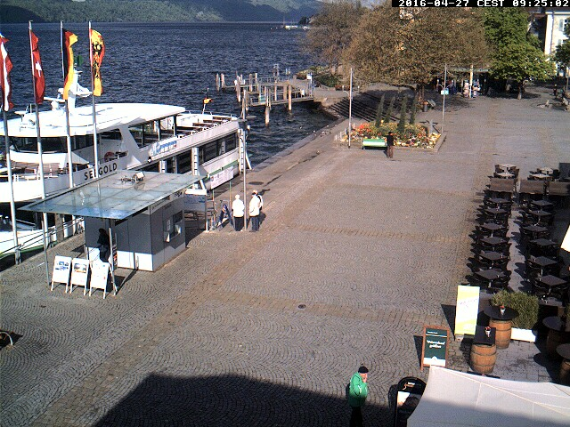 Ueberlingen webcam - BSB-online - the adventure fleet webcam, Baden-Wuerttemberg, Bodenseekreis